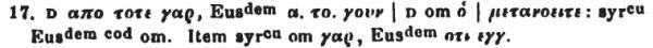Tischendorf Mt 4:17